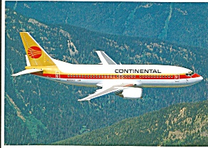 Continental Airlines 737-300 N59302 Jetliner Cs9951