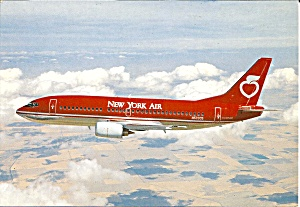 NEW YORK AIR 737-300 N633051 Jetliner cs9956 (Image1)