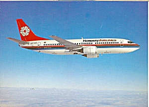 NORWAY AIRLINES 737-300 Jetliner cs9957 (Image1)