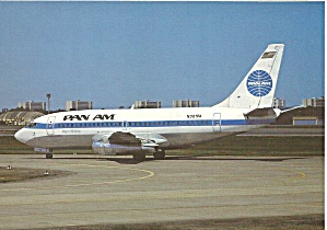Pan Am 737-275 Adv N381pa Clipper Wedding Cs9987