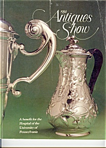 1984 Antiques Show Book Univ Hospital PA (Image1)