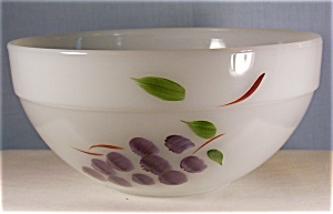 Fire King Fruits 8 3/4 inch Mixing Bowl (Image1)