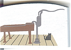 Cat's Meow Accessory  Pump Trough Brickerville PA 1992 (Image1)