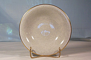 Rosenthal 6 1/2 in. Crackle Finish Ftd. Bowl ca.1950s (Image1)