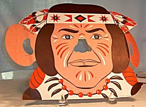 Fred Harvey Indian Face Kids Menu (Image1)
