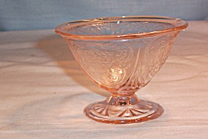 Pink Royal Lace Footed Sherbet (Image1)