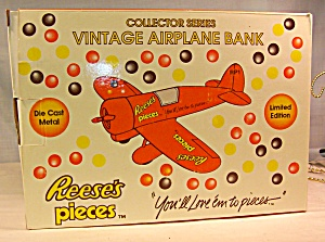 Reese's Pieces Vintage Airplane Bank (Image1)