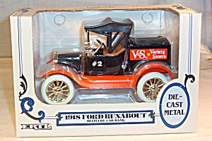 1918 Ford Runabout  Delivery Bank, by Ertl-V&S Variety (Image1)