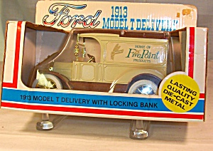 1913 Ford Model T Delivery Coin Bank (Image1)