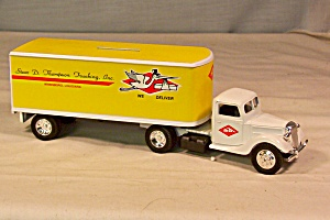 Ertl 1937 Ford Tractor Trailer Thompson Trucking (Image1)