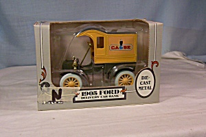 Ertl 1905 Ford Delivery Car Coin Bank Case (Image1)