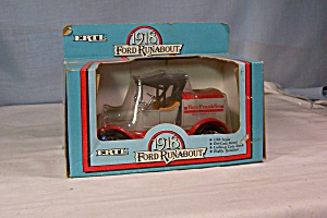 Ertl 1918 Ford Runabout Coin Bank Ben Franklin (Image1)