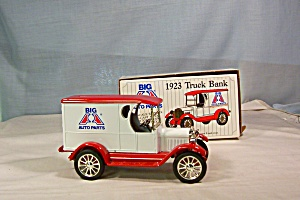Big A Auto Parts 1923 Truck Coin Bank (Image1)