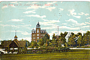 City Park and St Joseph Hospital, Reading,PA (Image1)