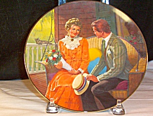 Courting -by Robert Berran - Collector's Plate (Image1)
