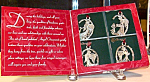 Longaberger Pewter Ornaments D3123