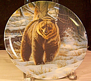 The Grizzly Bear Collector's Plate 1st Ed.1988
