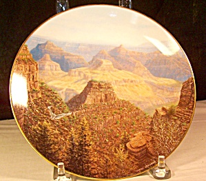 The Grand Canyon Collector Plate By Harry Johnson