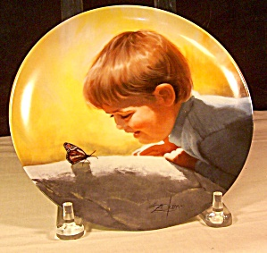 Sunny Surprises Collector Plate By Donald Zolan