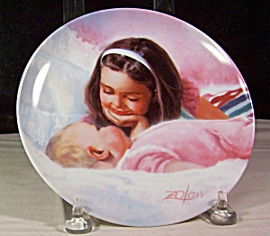 Sisterly Love Collector Plate By Donald Zolan