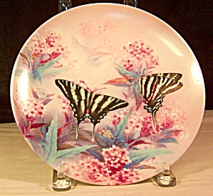 Zebra Swallowtails Collector Plate by Lena Liu (Image1)