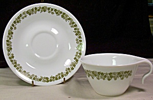 Spring Blossom Correlle Cup and Saucer by Corning (Image1)