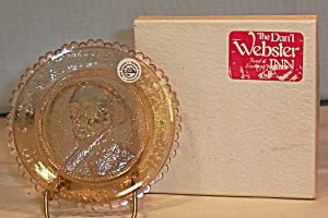 Pairpoint Glass Co. Cup Plate Dan'l Webster (Image1)
