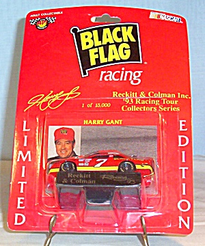 Harry Gant #7,Diecast 1:64 Black Flag Promo Package  (Image1)