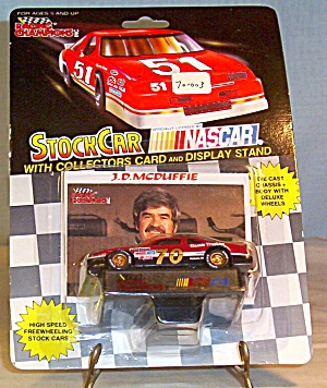 J D Mcduffie #70, 1:64 Diecast Son S Auto Supply