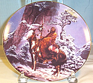Mystic Warrior Native American Collector's Plate   (Image1)