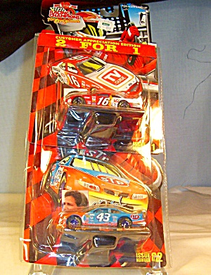 Racing Champions #16 and #43 1:64 Nascar Diecast (Image1)