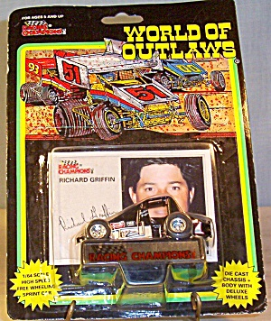 Richard Griffin #7 Sprint Car World Of Outlaws 1:64 Di