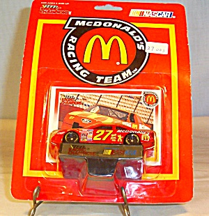#27 Hut Stricklin McDonald s Diecast Promo Package (Image1)