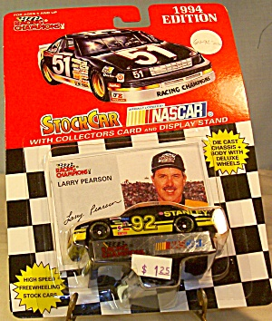 Nascar #92 Larry Pearson Stanley Diecast 1:64