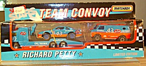 #43 Richard Petty Matchbox Limited Editiontransporter Convoy By White Rose