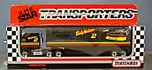#2 Rusty Wallace Penski racing Matchbox Transporter (Image1)