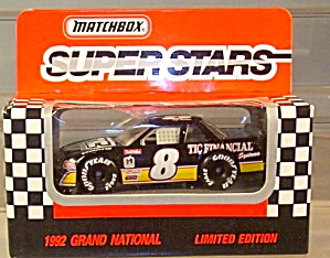 #8 Jeff Burton TIC Financial Match Box Super Stars Race Car (Image1)