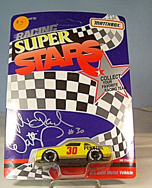 #30 Michael Waltrip Pennzoil Match Box Super Stars Race Car (Image1)