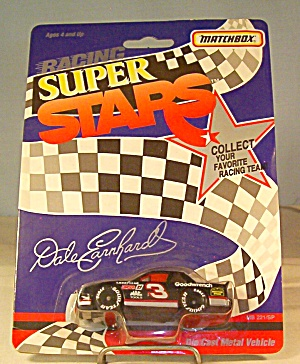 #3 Dale Earnhardt Goodwrench Match Box Super Stars Race Car (Image1)