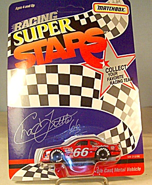 #66 Chad Little Match Box Super Stars Race Car (Image1)