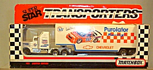 #10  Derrick Cope Purolator Matchbox  Super Star Transporter (Image1)