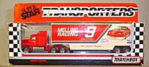 #9 Melling Racing Bill Elliot Matchbox  Super Star Transporter (Image1)