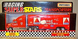 Citgo/Wood Bros.Racing Matchbox  Super Star Transporter (Image1)