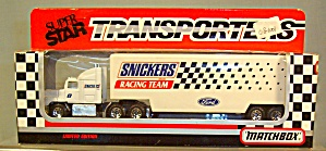 Snickers Racing Team Matchbox 1:64 Diecast (Image1)