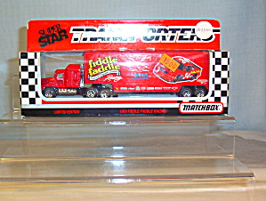 #34 Fiddle Faddle Todd Bodine Racing Matchbox 1:64 Diecast