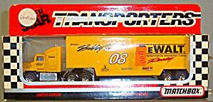 #08 Bobby Dotter DeWalt Tools Racing Matchbox  Super Star Transporter (Image1)