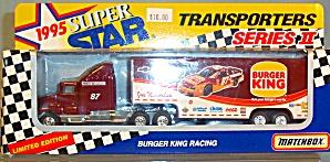 #87 Joe Nemechek Burger King Matchbox  Super Star Transporter (Image1)