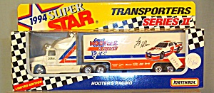 #19 Hooters Racing Loy Allen Matchbox Diecast