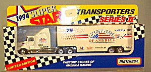#75 Factory Stores of America Todd Bodine Matchbox  Diecast (Image1)