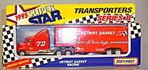 #72 Detroit Gasket Tracy Leslie Matchbox 1:64 Diecast (Image1)